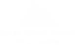 Baja Wine Tour logo in white